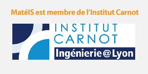 MatéIS est membre de l'Institut Carnot