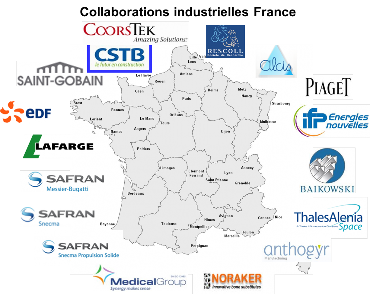 Collaborations industrielles France