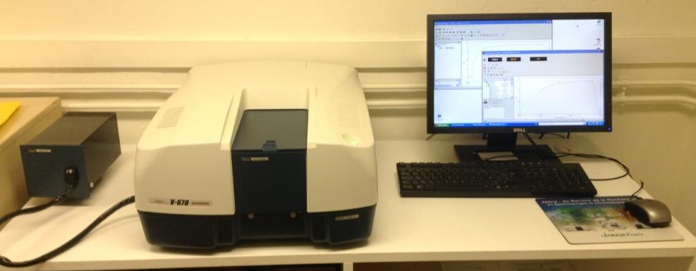 IMAGE-Spectrophotomètre